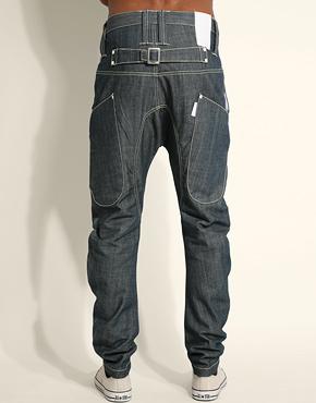 Mens Loose Jeans