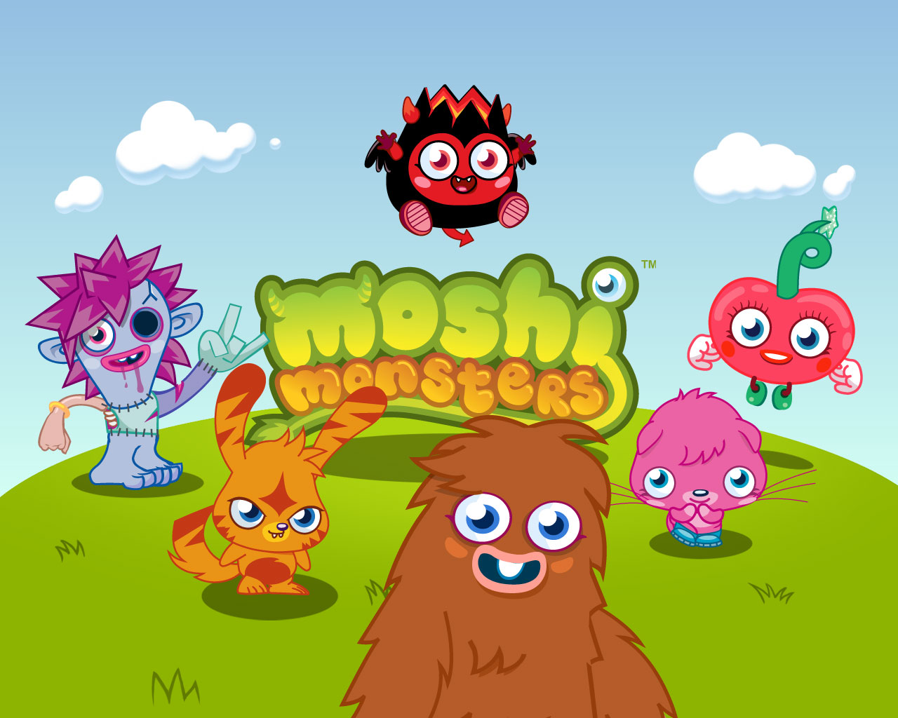 Moshi monster print out pictures Moshi Monsters Colouring Pages at m Free