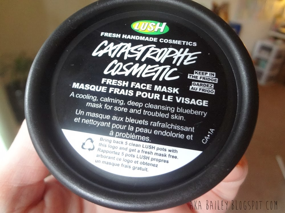 Catastrophe Cosmetic Fresh Face Mask from LUSH