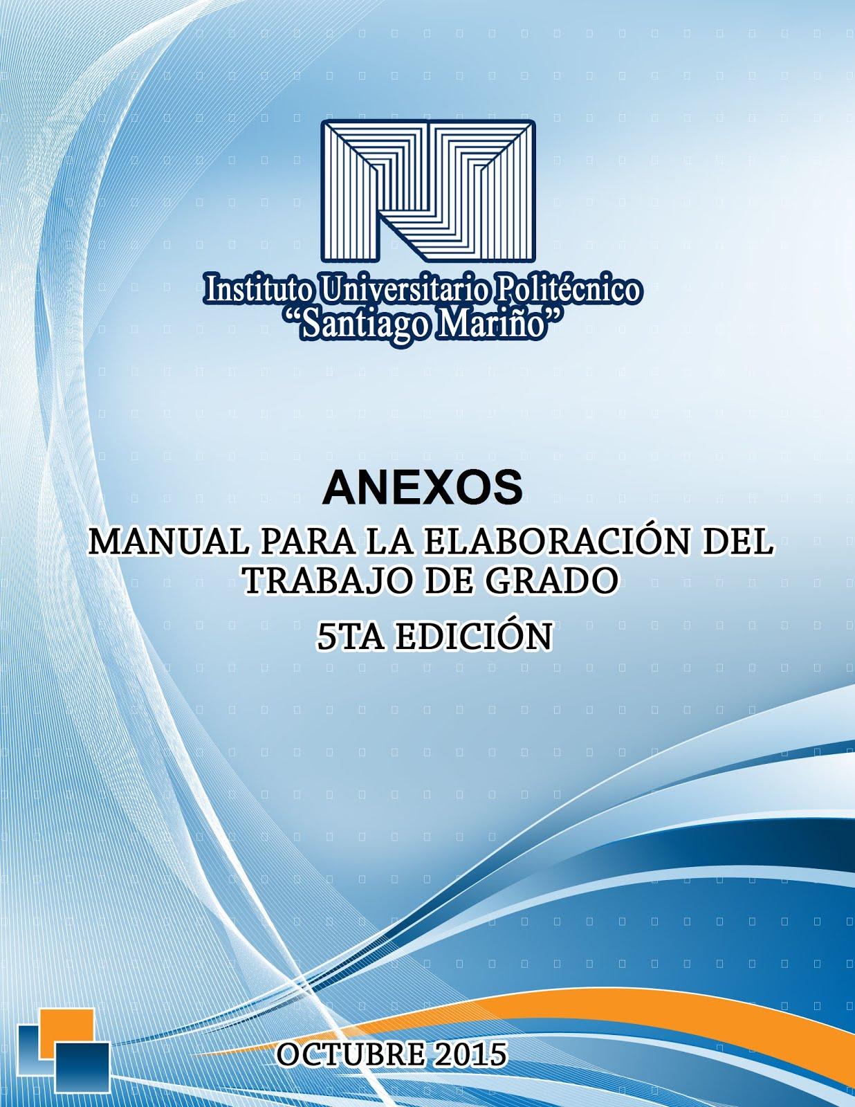 Continuación del Manual de trabajo de grado ANEXOS