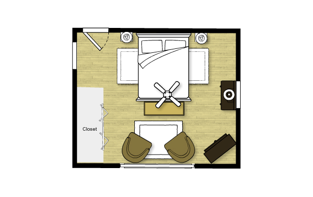 Bedroom floorplan new calendar template site for H plan bedroom furniture
