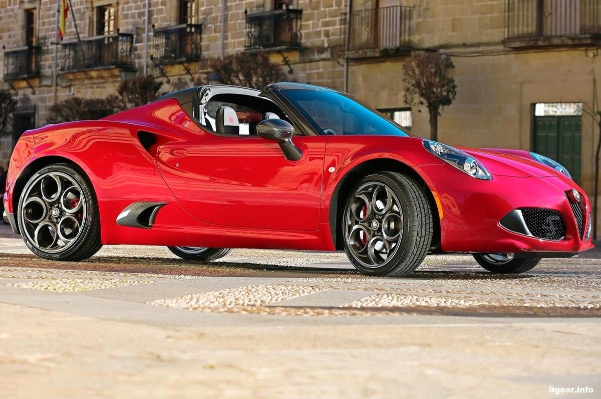 italian supercar 2015 alfa romeo 4c spider car reviews. Black Bedroom Furniture Sets. Home Design Ideas