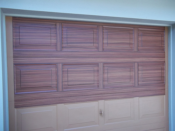 Finished The Single Car Garage Door Everything I Create