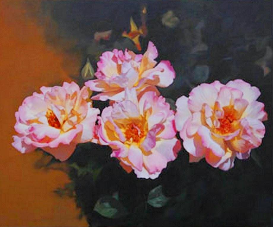 bodegones-con-rosas-pintados-al-oleo