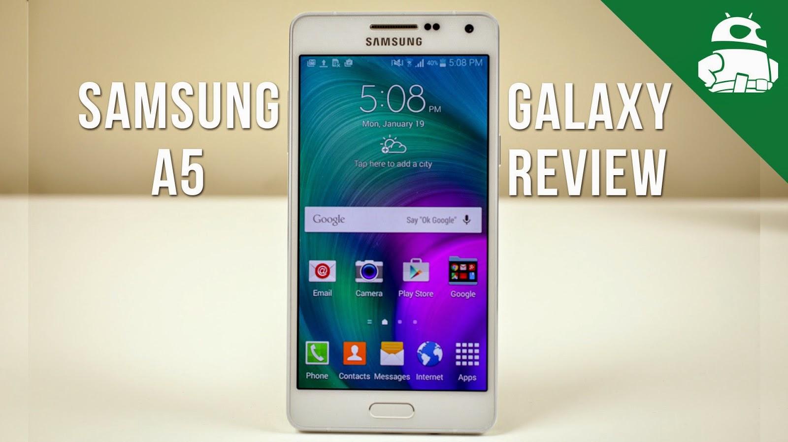 Harga Samsung Galaxy A5, Smartphone Dengan Body Full Metal
