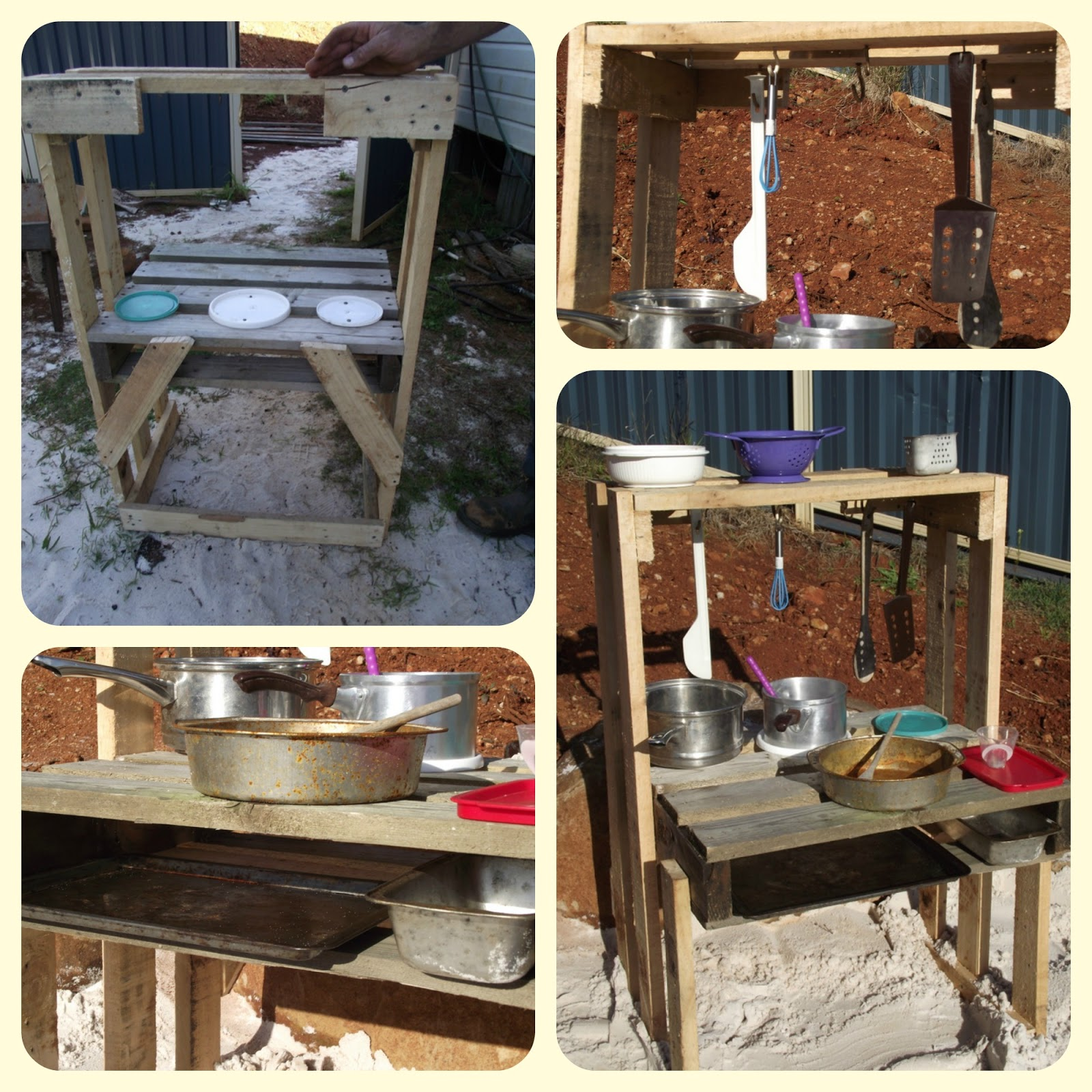 Kitchen Set Pallet: Building A Pallet Sand Kitchen