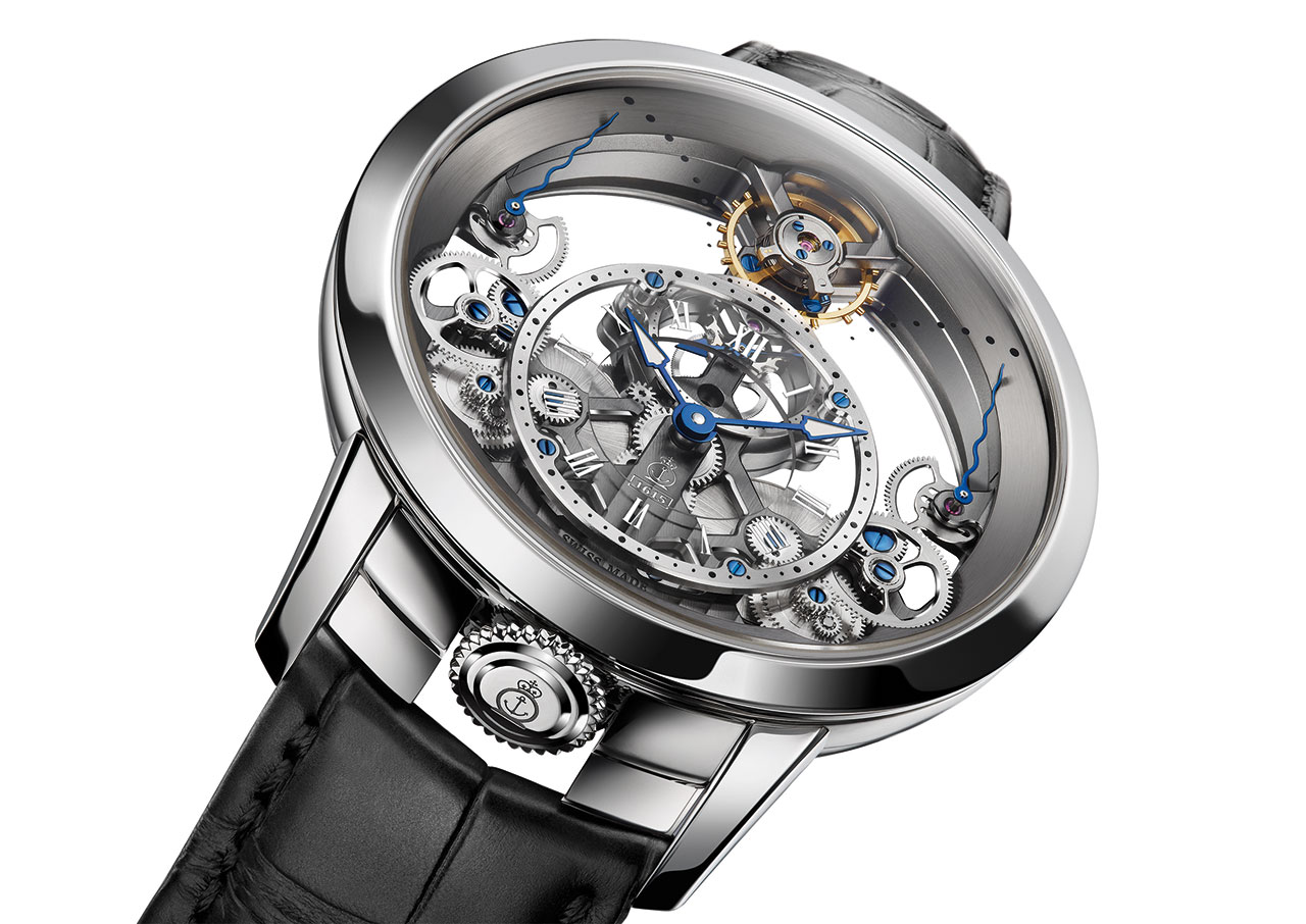 Arnold & Son Time Pyramid Watch