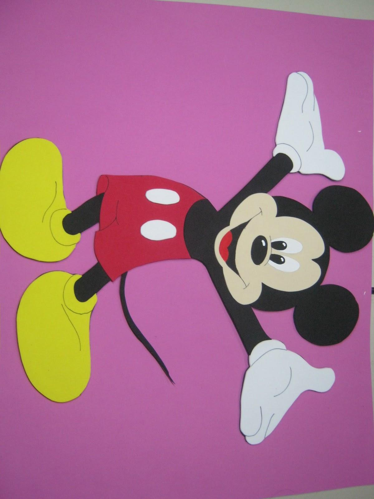 Moldes De Mickey Mouse
