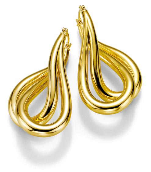 the fashion time earring designs in gold