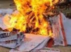 Ditemukan Rusak, 278 Kertas Suara Dibakar