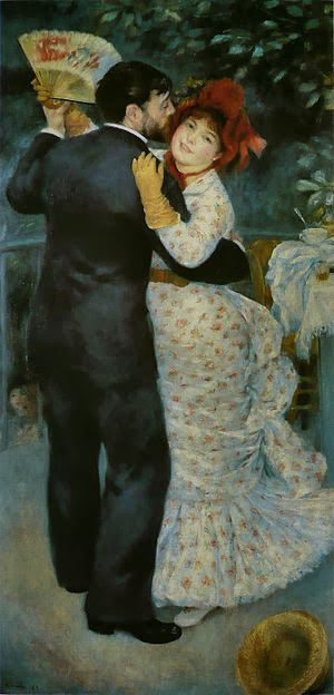 "Picture of ""Dance in the Country"" by Renoir, 1883"