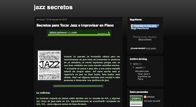 Secretos para tocar Jazz e Improvisar en el piano.  en Directoriopax