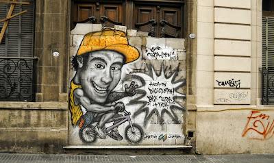 Andá en bicicleta
