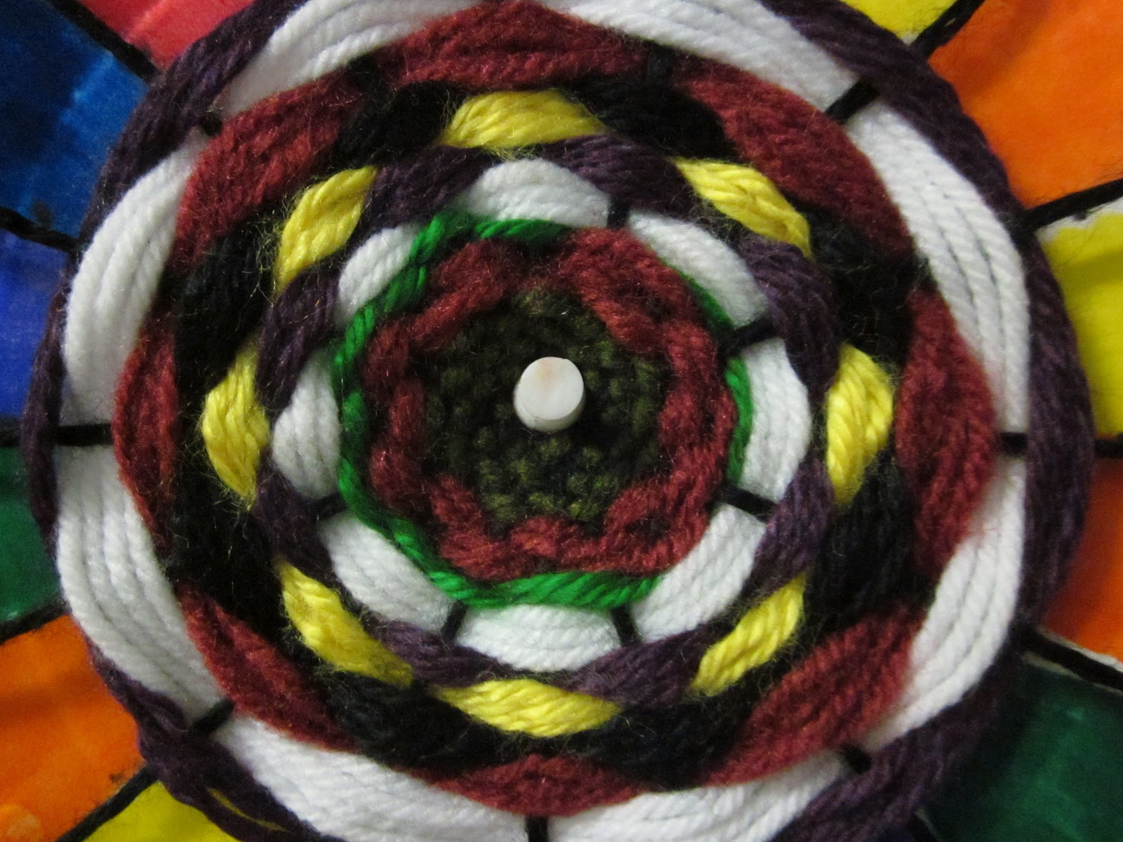 -For more explicit visual instructions you can search the internet with the words \ weaving paper plates\  and you will find many sites with various ... & Time for Art!: WEAVING PAPER PLATES