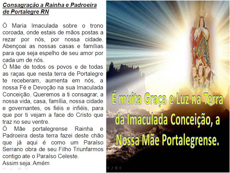 Consagração Da Imaculada Conceição de Portalegre.