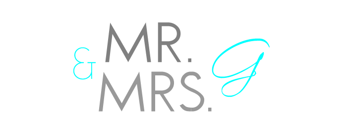 Mr. + Mrs. G