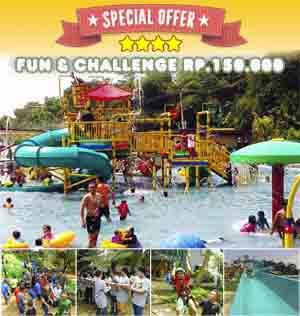 wisata edukatif sentul gumati water park