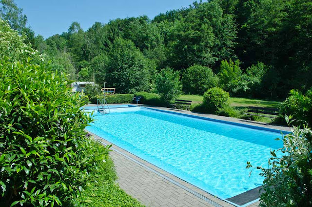 Schwimmbad Campingplatz Eulenburg