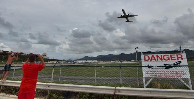 Maho Beach y el Aeropuerto Princesa Juliana