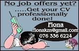 Need A CV?
