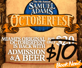 Sam Adams Octoberfest in Wynwood, September 19-20, 2014