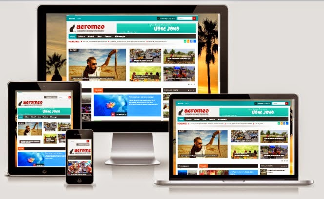 Share News blogger template: Aeromeo bloggger templates free