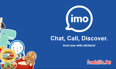 4 step for make free calls with IMO apps