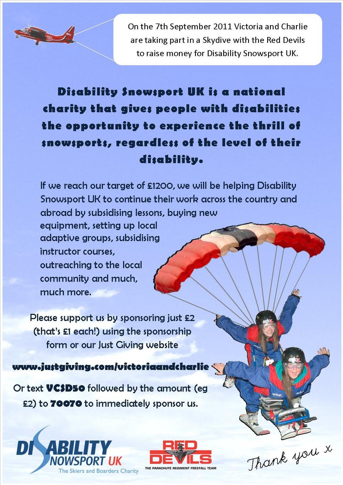 Www.justgiving.com/victoriaandcharlie  Charity Sponsor Form Template