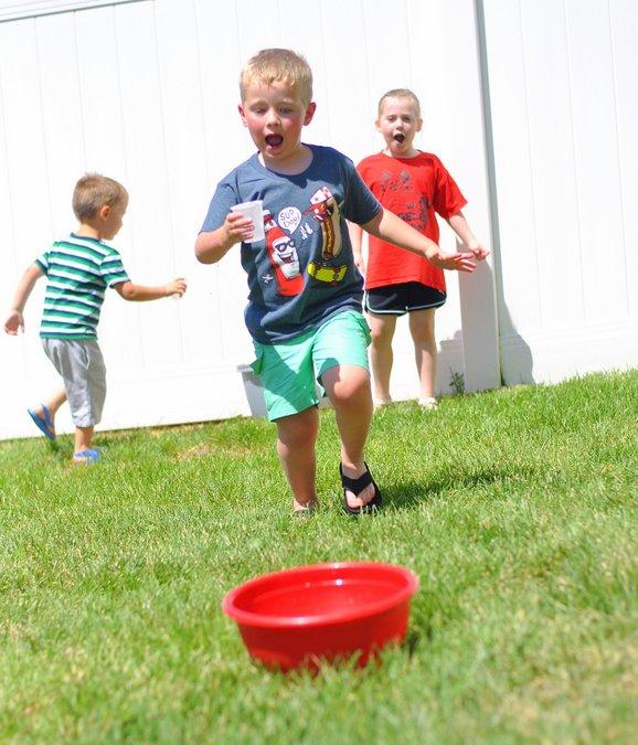 fun outdoor water games