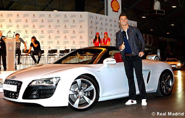 Cristiano Ronaldo With The Most Expensive Audi Car Cristiano - Most expensive audi car