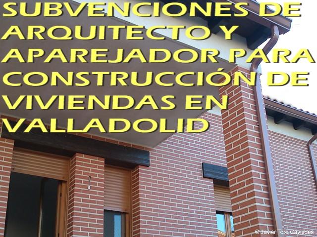 subvenciones arquitecto valladolid 2013 © JTC