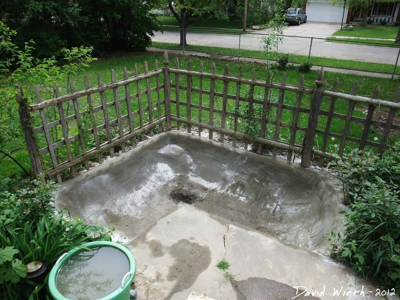 Concrete Pond For Backyard Make