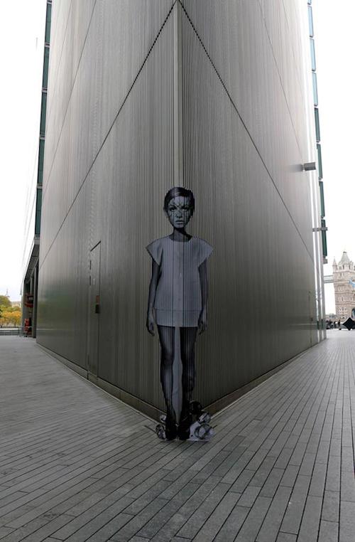 exemplos de arte urbana - Street Art - Miss Bugs
