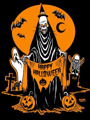 The Spooky Vegan: 31 Days of Halloween: The Art of Eric Pigors