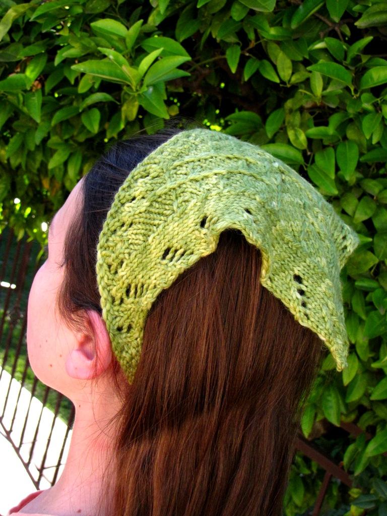 The Lichen Head Scarf Handmade Holiday 2011 Natural Suburbia