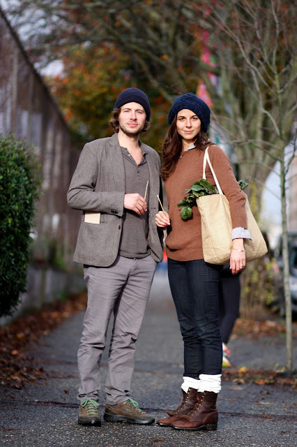 Nicholas Kramer Brenna Kramer Hank Goods U DIstrict seattle street style fashion it's my darlin'