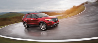2013 Ford Explorer Sport Ruby Red