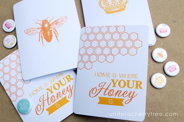 http://underacherrytree.blogspot.com/2014/10/queen-bee-notecards.html