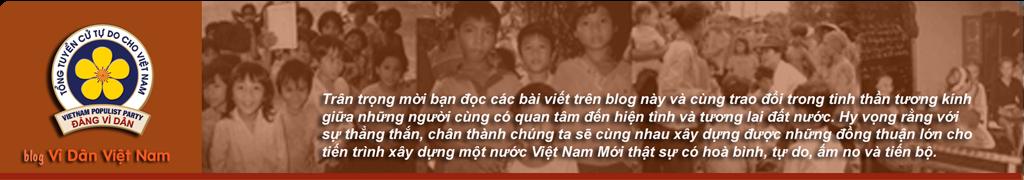 Blog Đảng Vì Dân Việt Nam