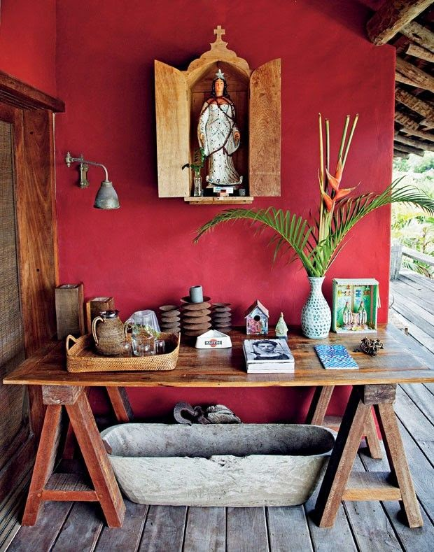 Imagem casa vogue - Mexican home decor ideas ...