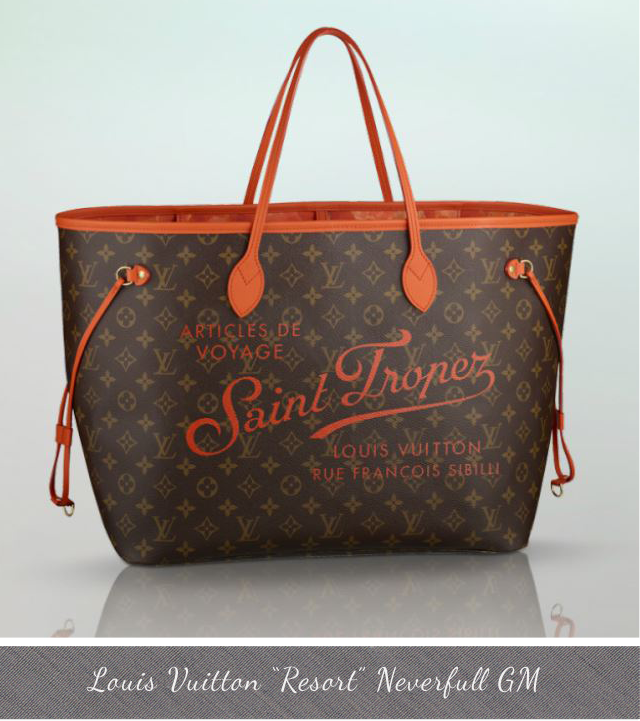 Louis Vuitton Resort Neverfull GM St Tropez