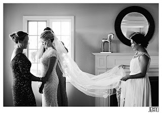Something old - Abbey's mother's wedding veil - Patricia Stimac Seatle Wedding Officiant