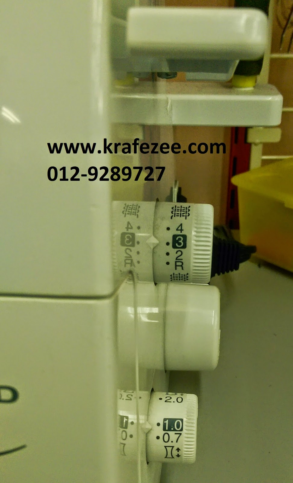 brother 3034d overlock serger setting