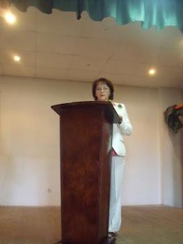 María del Carmen Dominguez Hierro, jura su cargo