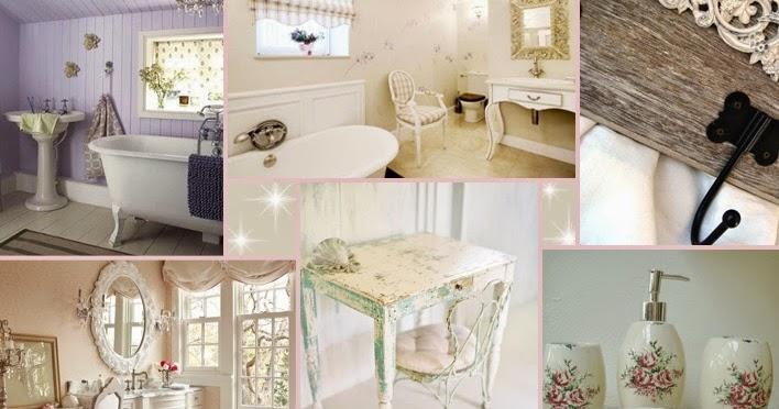 Relas arredo nel bagno in stile shabby chic idee e for Bagno romantico