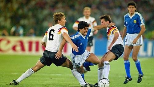 rivalitas klasik argentina jerman barat
