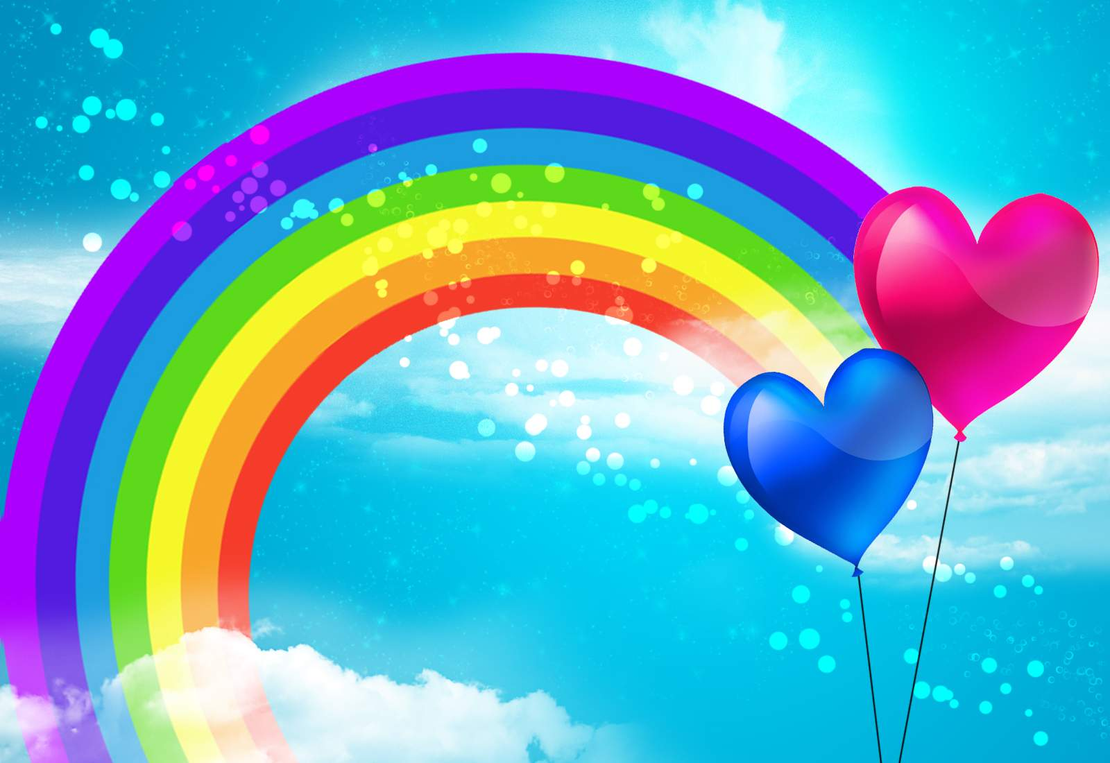 rainbows images 500 collection hd wallpaper