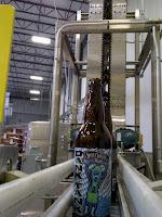 empty SweetWater DANK TANK Danktoberfest bottles