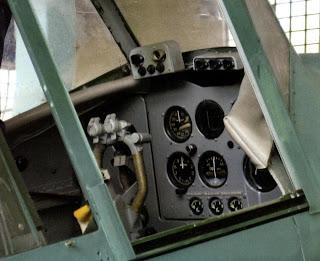 Интерьер пилотской кабины Ил-2 КСС