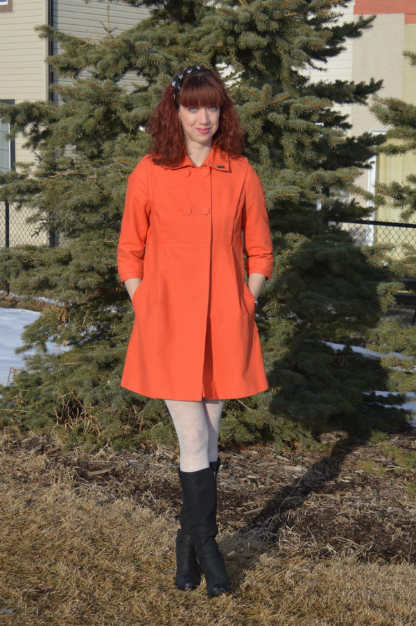 orange, coat, spring, trends